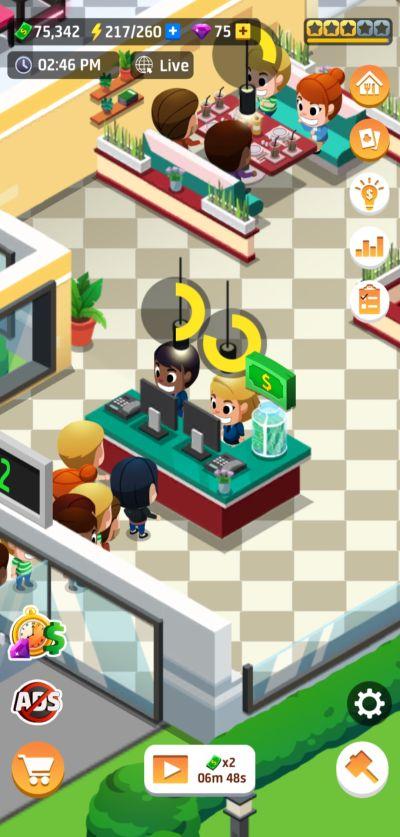idle restaurant tycoon tip jar
