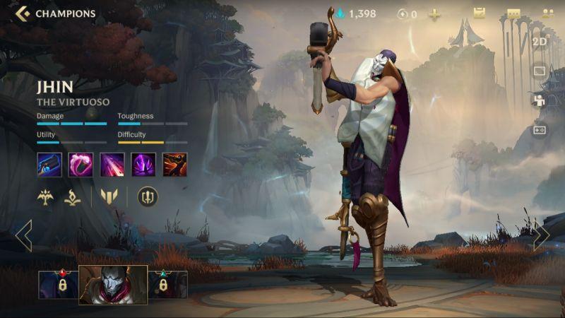 jhin league of legends wild rift
