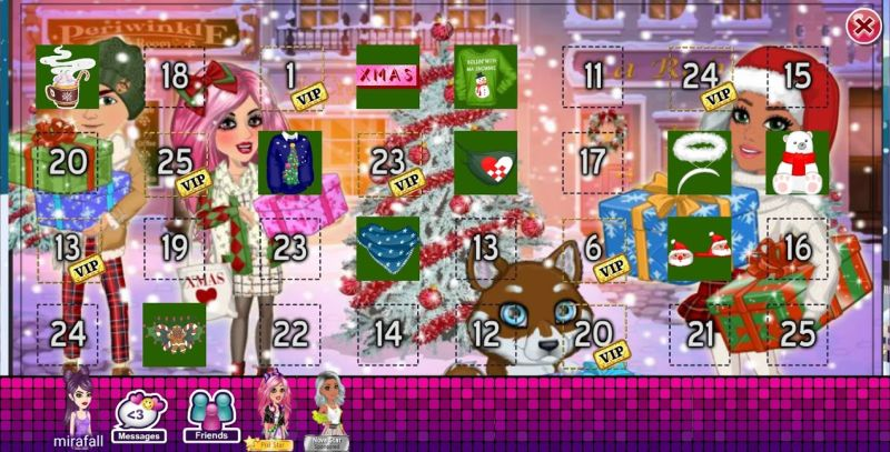 claiming daily gifts in moviestarplanet