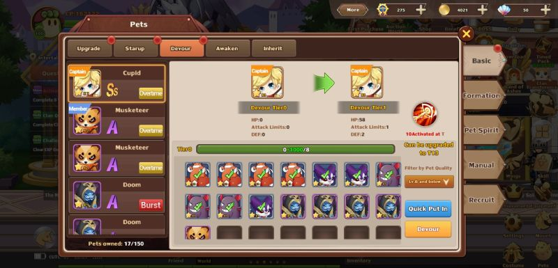pets in rainbow story