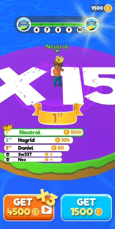 shortcut run x15 island