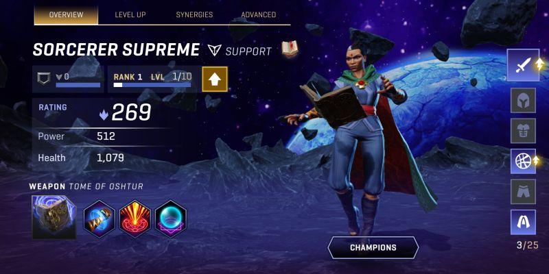 sorcerer supreme marvel realm of champions