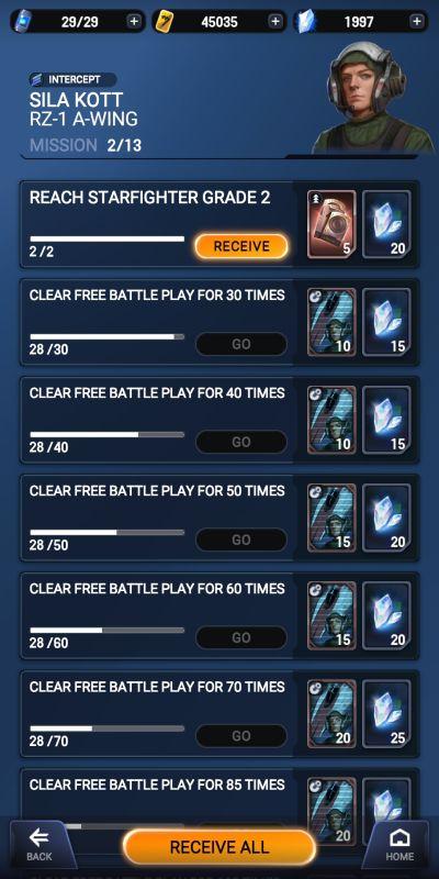 star wars starfighter missions achievements