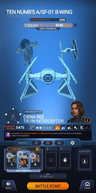 star wars starfighter missions interceptor