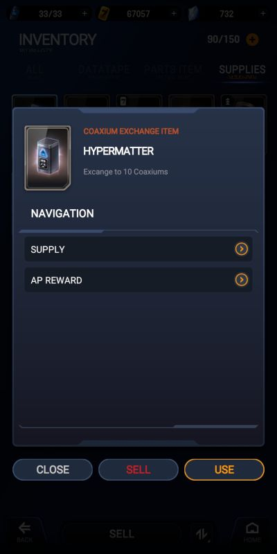 star wars starfighter missions inventory