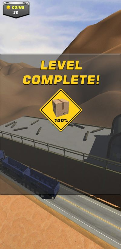 truck'em all level complete