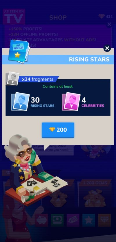 how to spend gems in tv empire tycoon