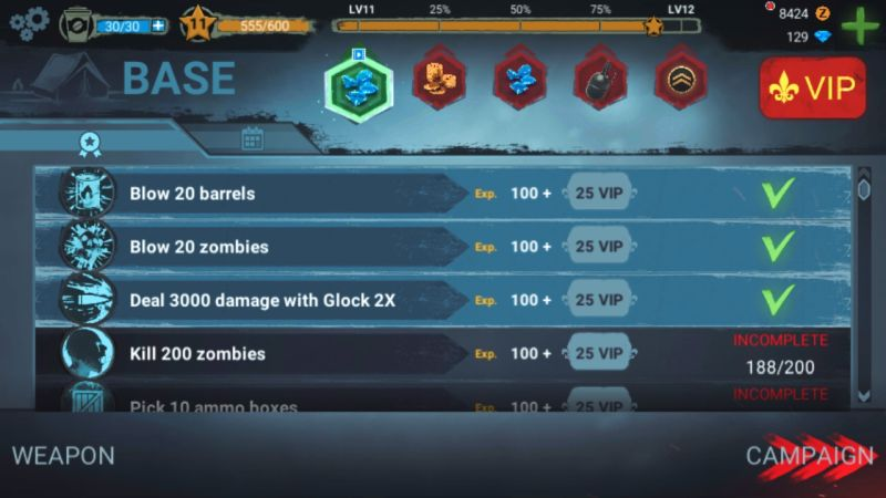 milestones in zombeast