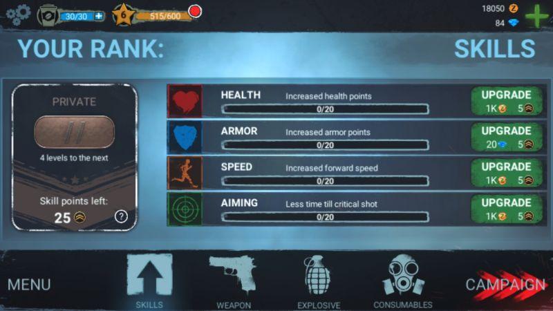 skills in zombeast
