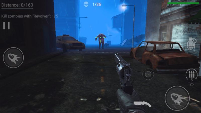 killing zombies in zombeast