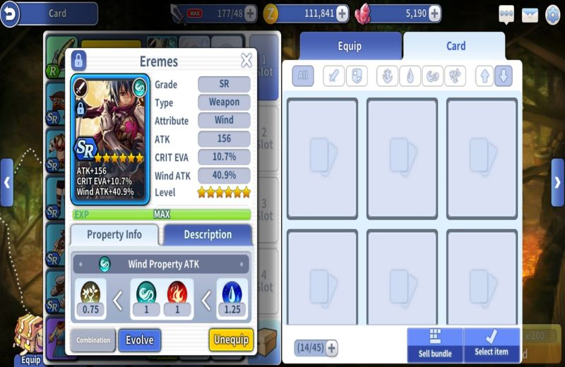 action ro2 spear of odin card evolution