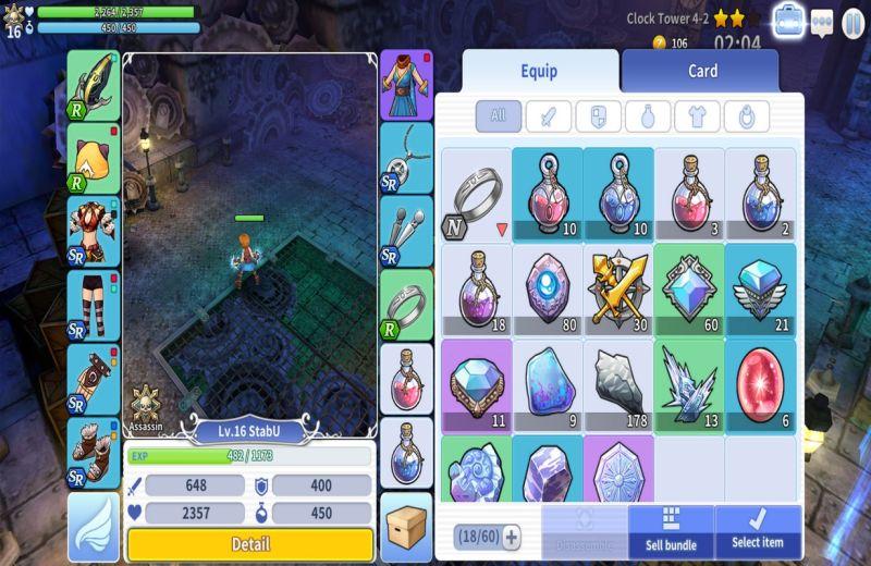 action ro2 spear of odin scenario inventory