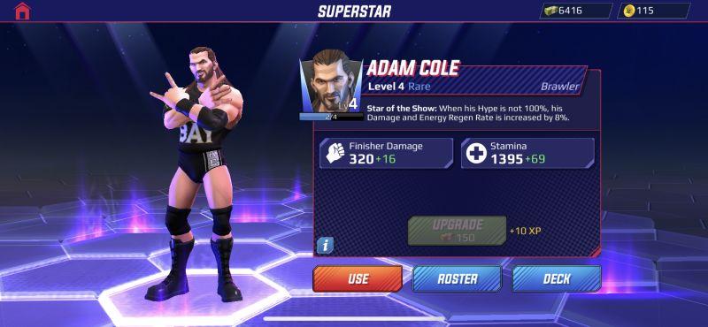 adam cole wwe undefeated