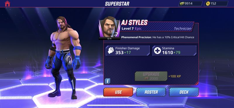 aj styles wwe undefeated