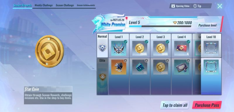 completing challenges astracraft