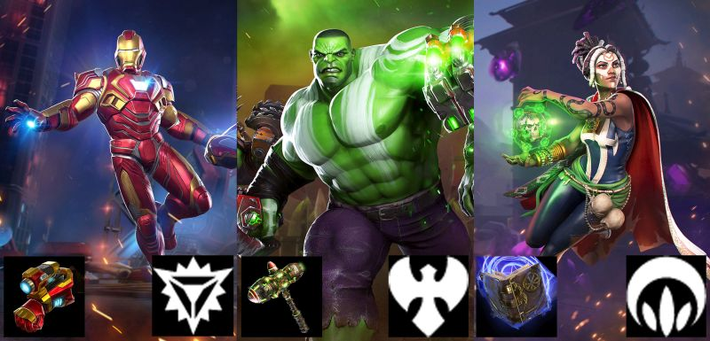 balanced pve team 1 marvel realm of champions