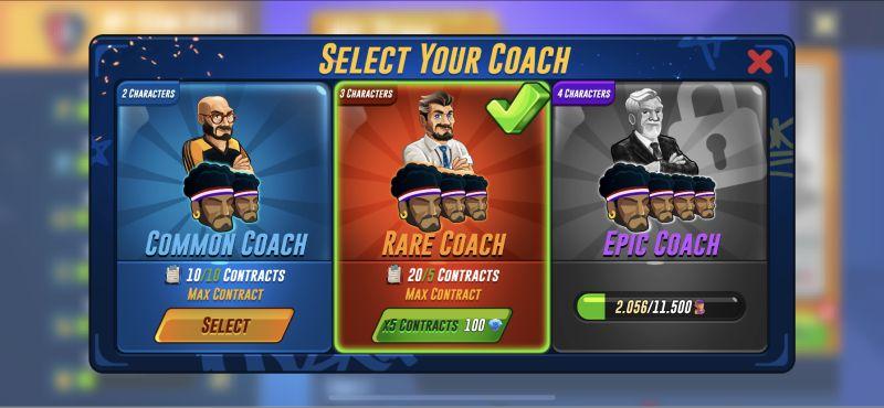 basketball arena coach contract
