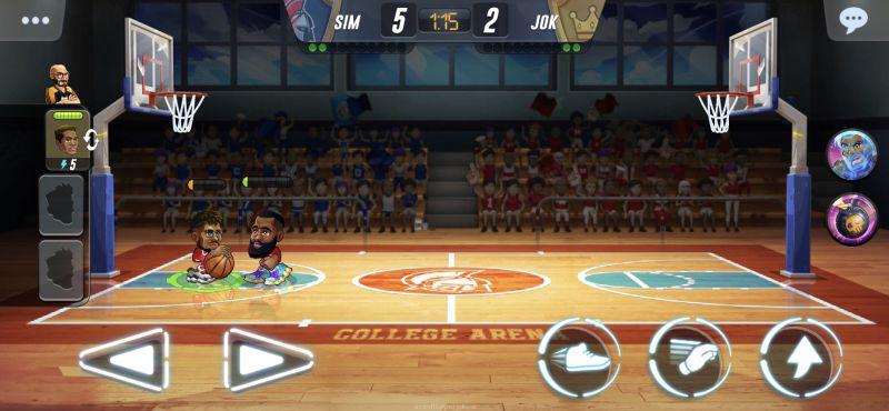 basketball arena keeping score low