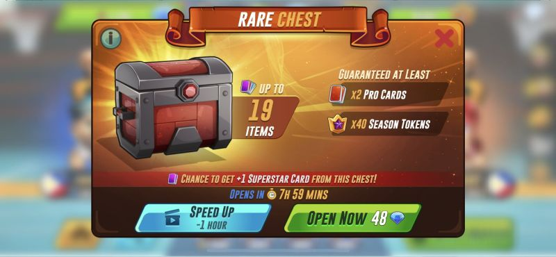 basketball arena prize chest