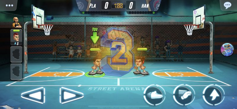 basketball arena tricks