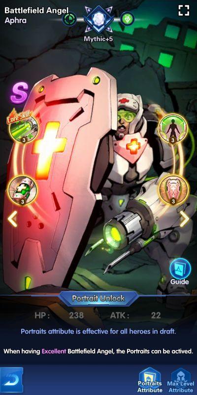 battlefield angel aphra x-hero idle avengers