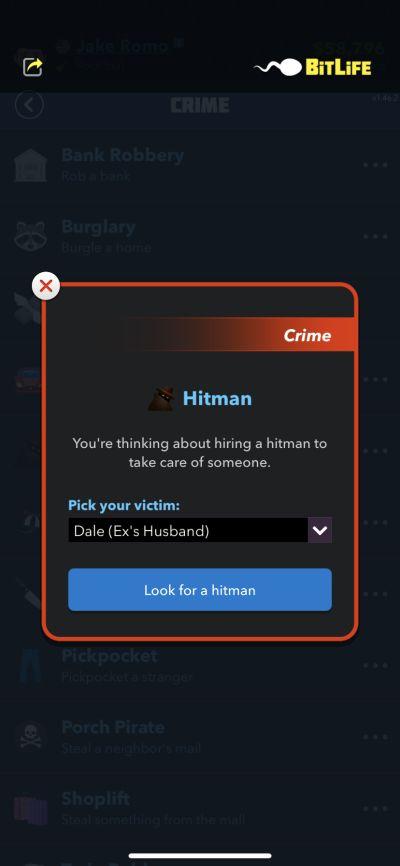 hiring a hitman bitlife