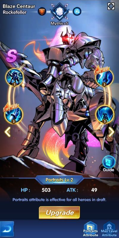 blaze centaur rockefeller x-hero idle avengers