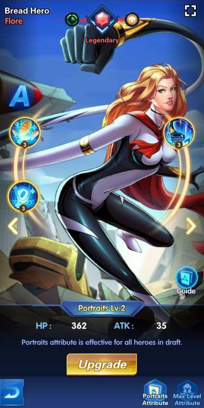 bread hero flore x-hero idle avengers