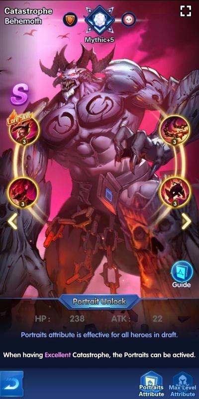 catastrophe behemoth x-hero idle avengers