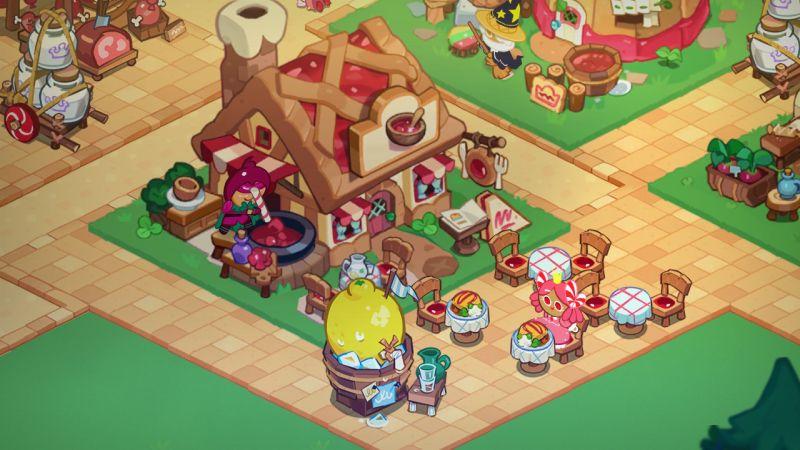 bakery cookie run kingdom