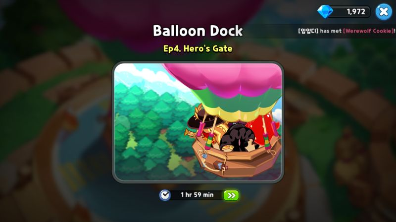 balloon dock cookie run kingdom