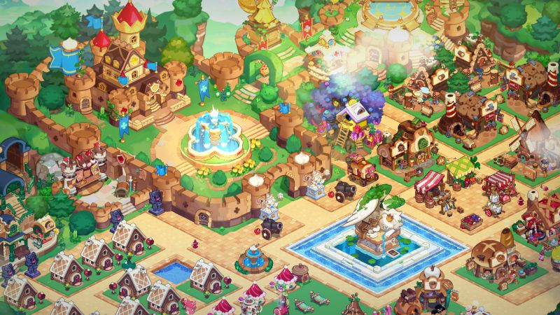 castle cookie run kingdom