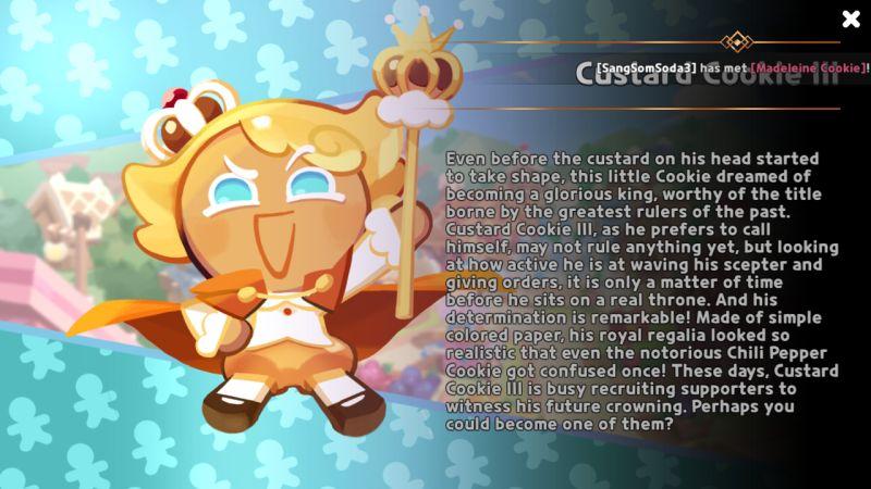 custard III cookie run kingdom