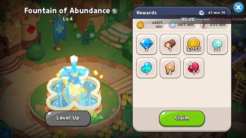 fountain of abundance cookie run kingdom