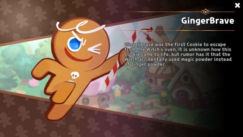 gingerbrave cookie run kingdom