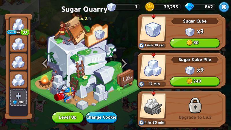 mining queue cookie run kingdom