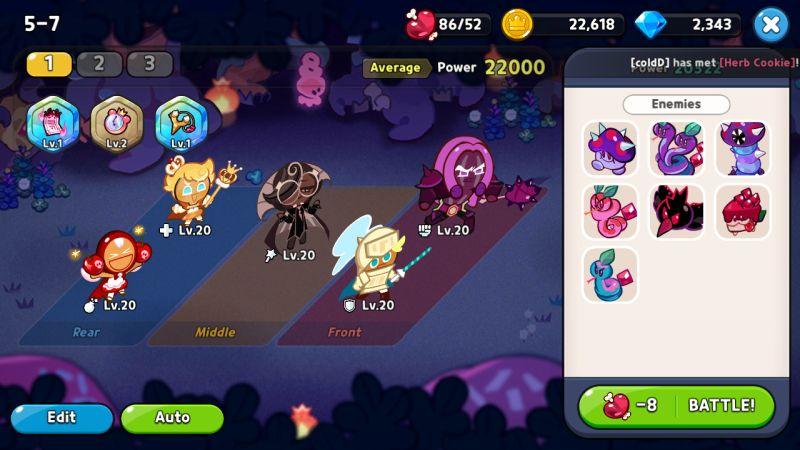 squad formation cookie run kingdom