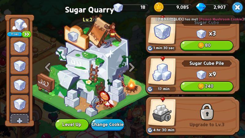 sugar quarry cookie run kingdom