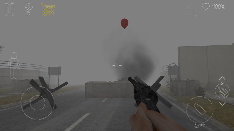 парк смерти 2 путь на воздушном шаре