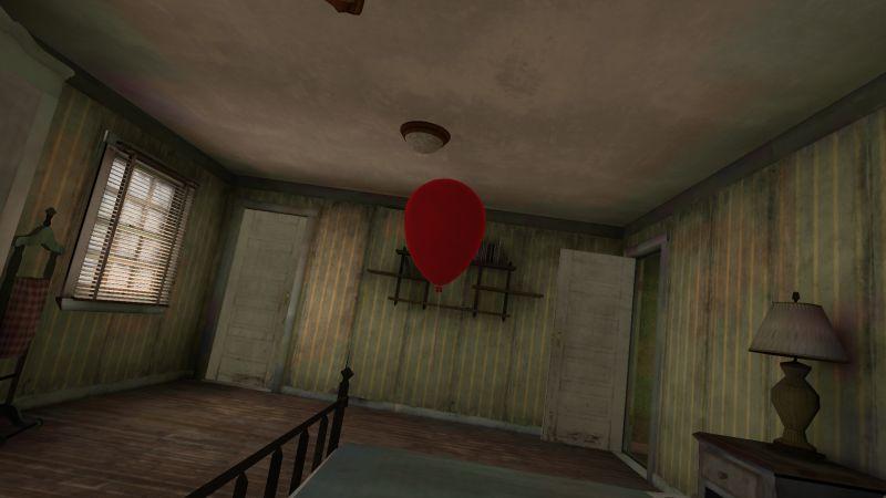парк смерти 2 кровать воздушный шар