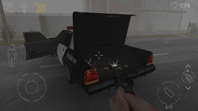 парк смерти 2 полицейский автомобиль назад