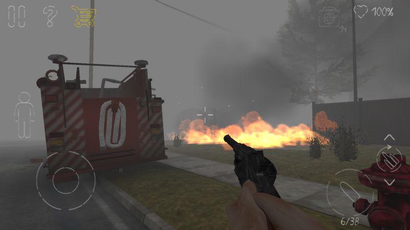парк смерти 2 пожарная машина