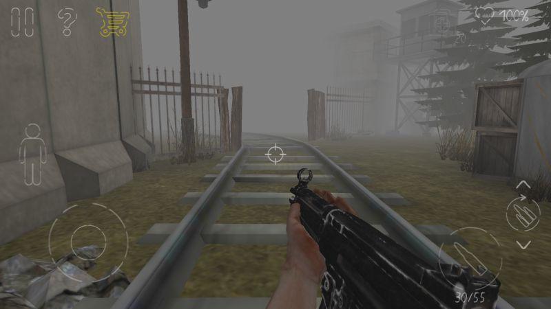 парк смерти 2 железнодорожные ворота