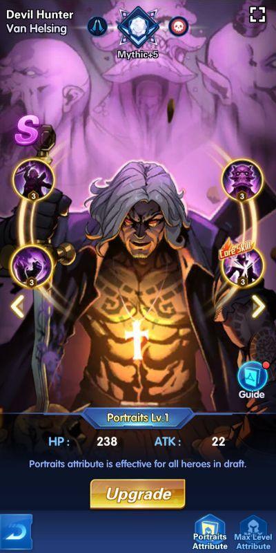 devil hunter van helsing x-hero idle avengers