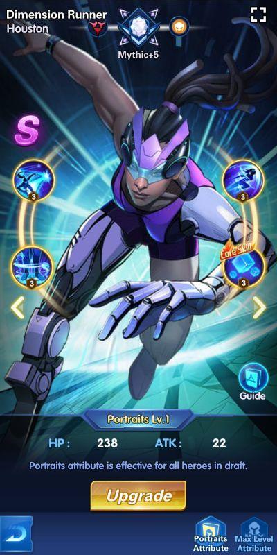 dimension runner houston x-hero idle avengers