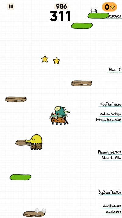 distractions in doodle jump 2
