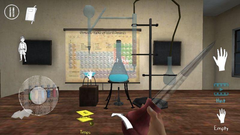 evil nun 2 chemistry