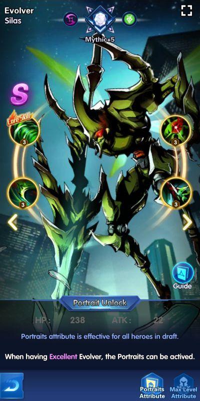 evolver silas x-hero idle avengers