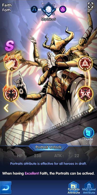 faith x-hero idle avengers