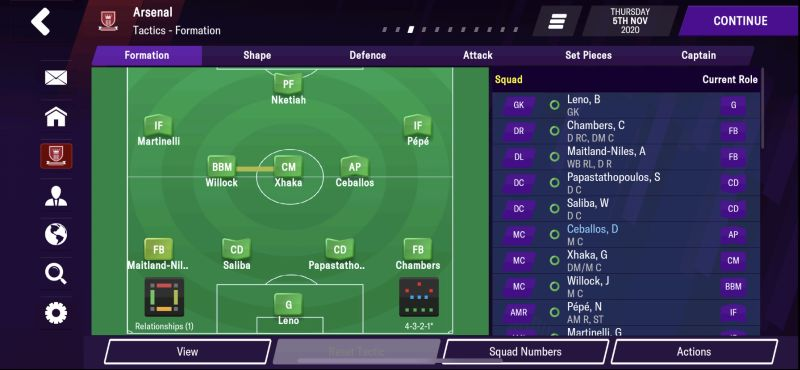 4-3-2-1 defensive formation football manager 2021 mobile